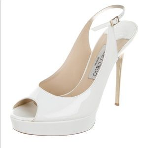 Patent Leather Singback pumps